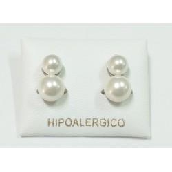 Pendiente hipoalergénico H-7051