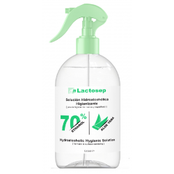 SPRAY HIGIENIZANTE MANOS 500 ML LACTOSEP