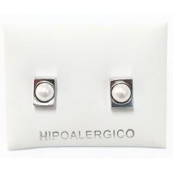 Pendiente hipoalergénico H-8009