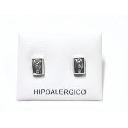 Pendiente hipoalergénico H-8013