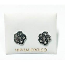 Pendiente hipoalergénico H-7038