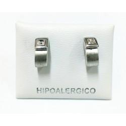 Pendiente hipoalergénico H-7048
