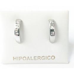 Pendiente hipoalergénico H-7020