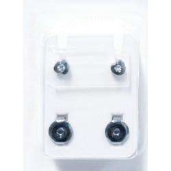 Pendiente piercing hipoalergénico W-502Y4