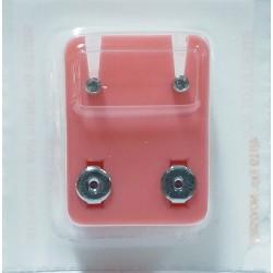 Pendiente piercing mini hipoalergénico MW-204