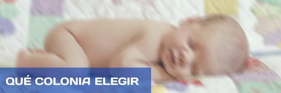 Te explicamos como elegir la mejor colonia para bebés